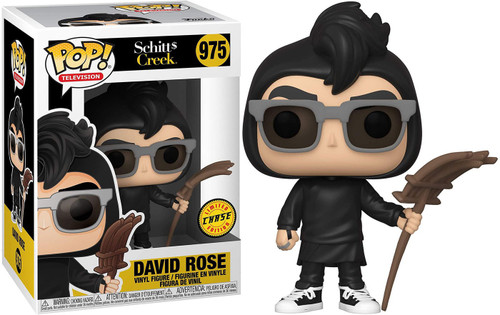 Funko Schitt's Creek POP! TV David Rose Vinyl Figure [Amish Farm, Chase Version]