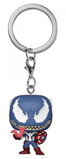 Funko POP! Marvel Venomized Captain America Keychain