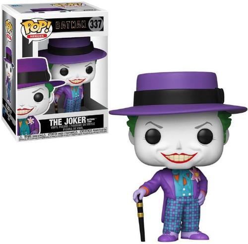 Funko DC Batman (1989) POP! Heroes Joker with Hat Vinyl Figure #337 [Regular Version, Top Hat]
