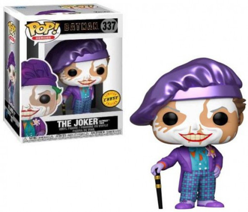 Funko DC Batman (1989) POP! Heroes Joker with Hat Vinyl Figure #337 [Chase Version, Painters Cap]