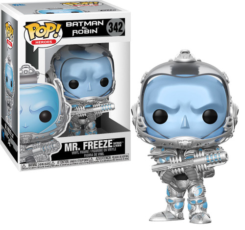 Funko DC Batman & Robin POP! Heroes Mr. Freeze Vinyl Figure
