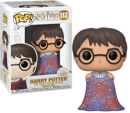 Funko POP! Movies Harry Potter Vinyl Figure #112 [Holding Invisibility Cloak]