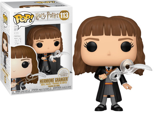 Funko Harry Potter POP! Movies Hermione with Feather Vinyl Figure