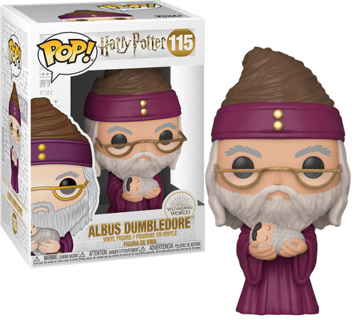 Funko POP! Harry Potter Dumbledore with Baby Harry Vinyl Figure