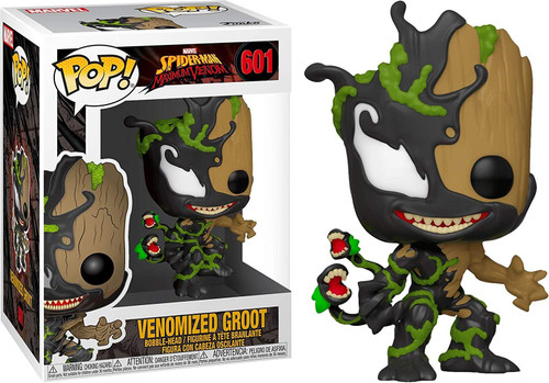 Funko POP! Marvel Venomized Groot Vinyl Figure #601 [Half Brown, Half Black]