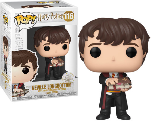 Funko Harry Potter POP! Movies Neville Longbottom Vinyl Figure #116 [with Monster Book]