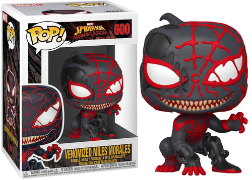 Funko POP! Marvel Venomized Miles Morales Vinyl Figure #600