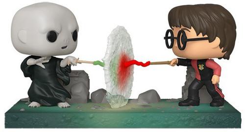 Funko Harry Potter POP! Moment Harry VS Voldemort Vinyl Figure 2-Pack