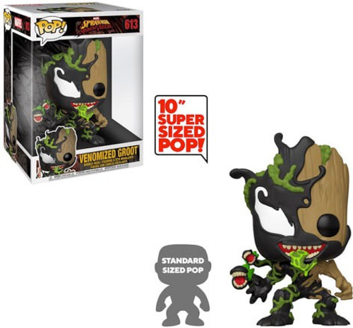 Funko Marvel Universe POP! Marvel Venomized Groot 10'' Vinyl Figure #613 [Super-Sized]