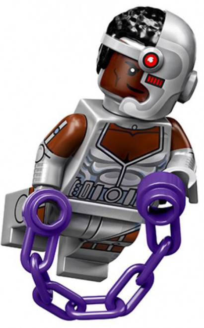 LEGO DC Super Heroes Teen Titans Cyborg Minifigure [71026 Loose]