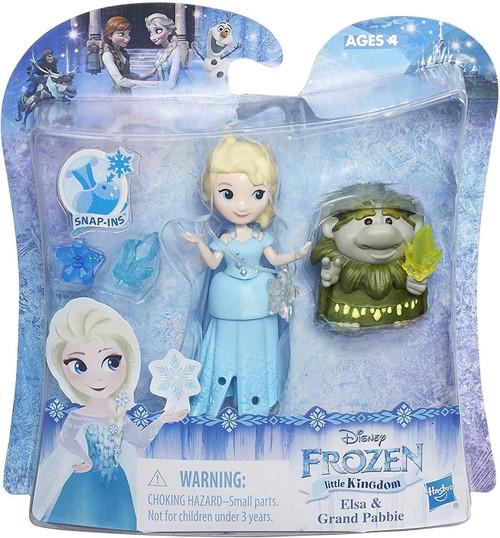 Disney Frozen Little Kingdom Elsa & Grand Pabbie Mini Doll