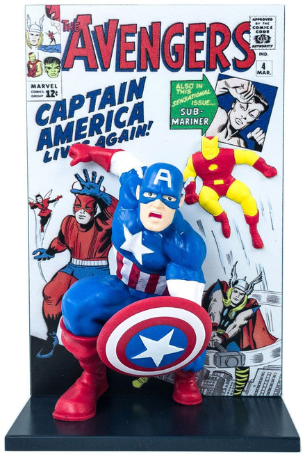 Marvel The Avengers Captain America 3D Comic Standee