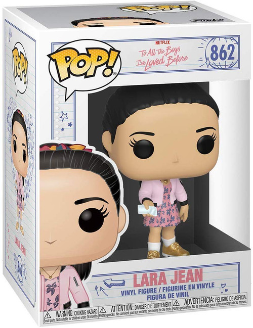 Funko To All the Boys I Loved Before POP! Movies Lara Jean Vinyl Figure #862 [Holding zltter]