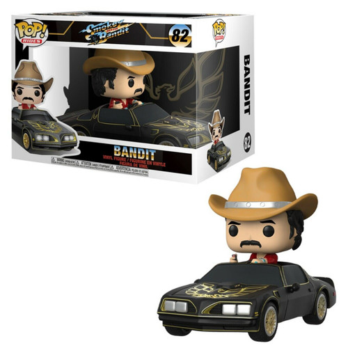Funko Smokey & the Bandit POP! Rides Bandit Vinyl Figure #82 [Trans Am with Burt Reynolds!]