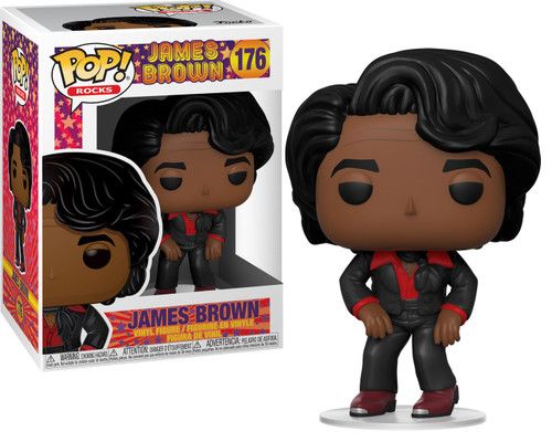 Funko POP! Rocks James Brown Vinyl Figure #176