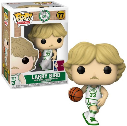 Funko NBA Boston Celtics POP! Sports Basketball Larry Bird Vinyl Figure #77 [White Uniform]