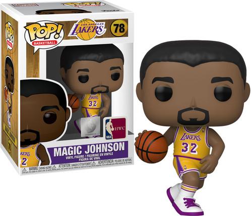 Funko Los Angeles Lakers POP! NBA Legends Magic Johnson Vinyl Figure [Gold Uniform]