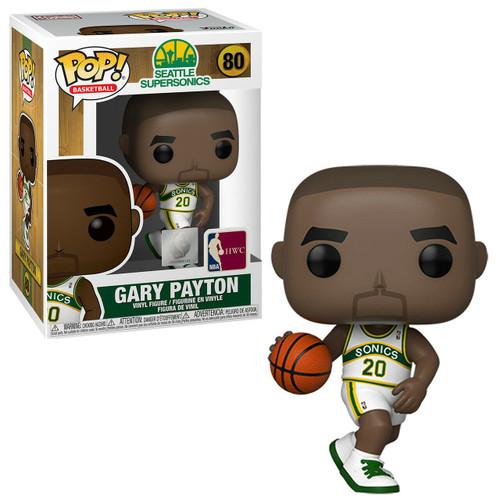 Funko Seattle Supersonics POP! NBA Legends Gary Payton Vinyl Figure [White Uniform]