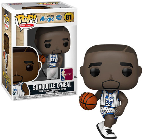 Funko NBA Orlando Magic POP! Sports Basketball Shaquille O'Neal Vinyl Figure #81 [White Uniform]