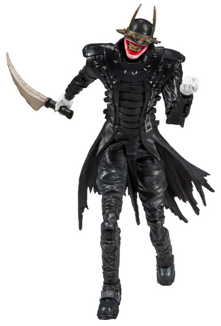 McFarlane Toys DC Multiverse Rebirth Build Batmobile Series Batman Who Laughs Action Figure [Dark Nights Metal]