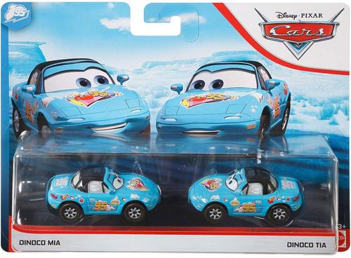 Disney / Pixar Cars Cars 3 Dinoco Daydream Dinoco Mia & Dinoco Tia Diecast Car