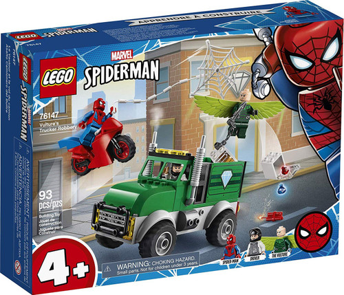 LEGO Marvel Spider-Man Vulture's Trucker Robbery Set #76147