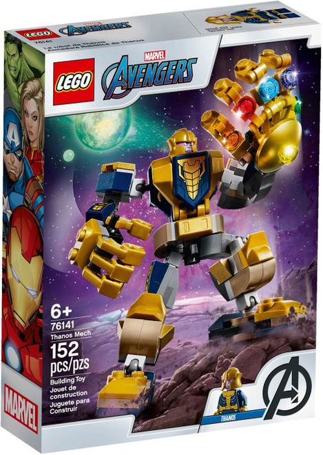 LEGO Marvel Super Heroes Avengers Thanos Mech Set #76141