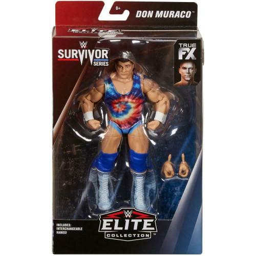 WWE Wrestling Elite Collection Survivor Series Don Muraco Action Figure