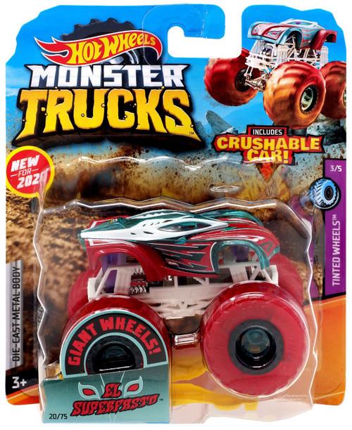 Hot Wheels Monster Trucks El Superfasto Diecast Car