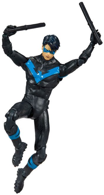 McFarlane Toys DC Multiverse Rebirth Build-A Batmobile Nightwing Action Figure [Better than Batman]