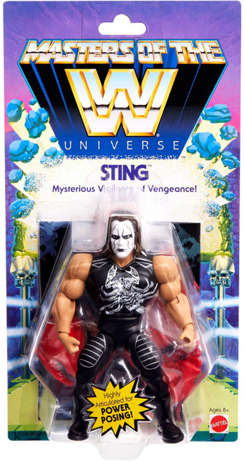 WWE Wrestling Masters of the WWE Universe Sting Exclusive Action Figure
