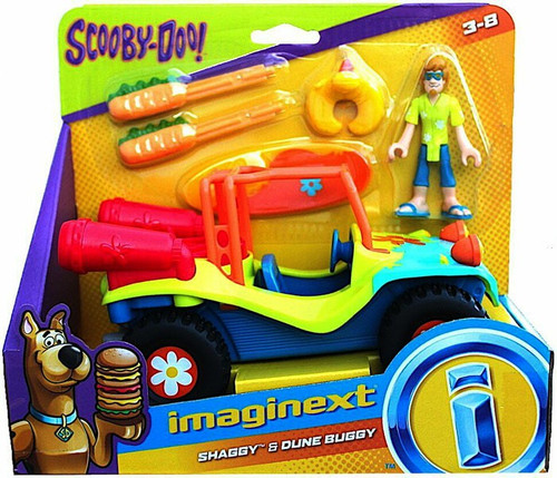 Fisher Price Scooby Doo Imaginext Shaggy & Dune Buggy 3-Inch Figure Set