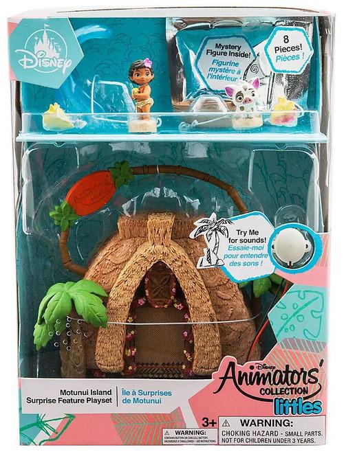 Disney Moana Littles Animators' Collection Motunui Island Surprise Exclusive Micro Playset [2020]