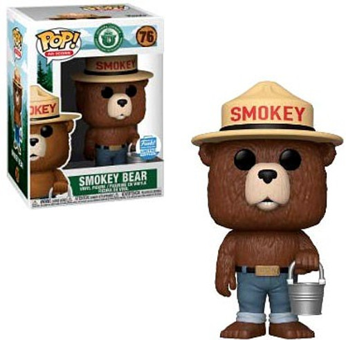 Funko POP! Ad Icons Smokey Bear Exclusive Vinyl Figure #76 [Bucket]