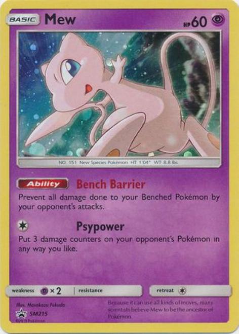 Pokemon Sun & Moon Promo Ultra Rare Mew SM215