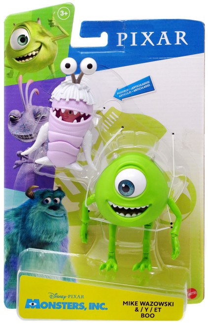 Disney / Pixar Monsters Inc Mike Wazowski & Boo Action Figure 2-Pack