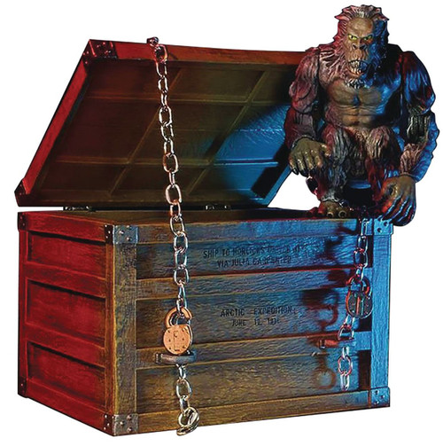 Creepshow Fluffy the Crate Beast Deluxe Action Figure