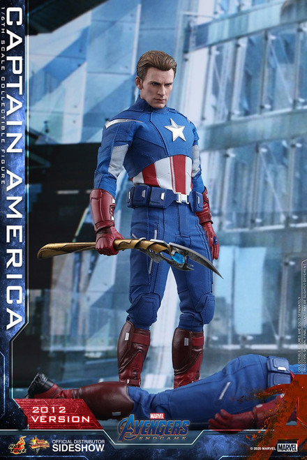 Marvel Avengers Endgame Captain America Collectible Figure [2012 Version] (Pre-Order ships June 2021)