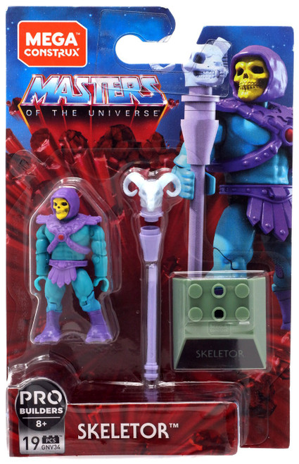 Mega Construx Masters of the Universe Heroes Skeletor Mini Figure