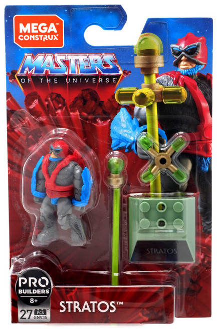 Mega Construx Masters of the Universe Heroes Stratos Mini Figure