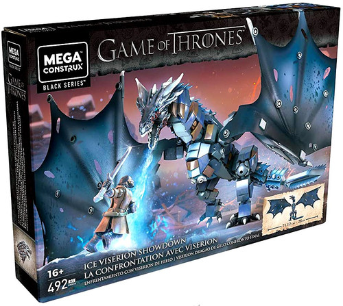 Game of Thrones Black Series Ice Viserion Showdown Set