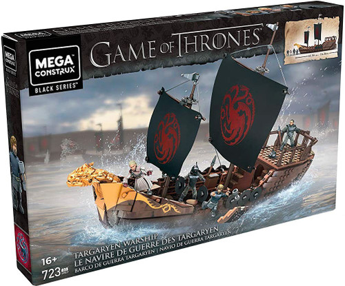Game of Thrones Black Series Targaryen Ship Set