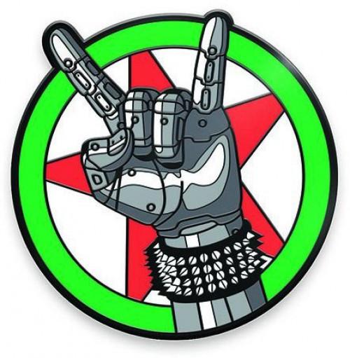 Cyberpunk 2077 Silverhand Emblem 1.5-Inch Enamel Pin