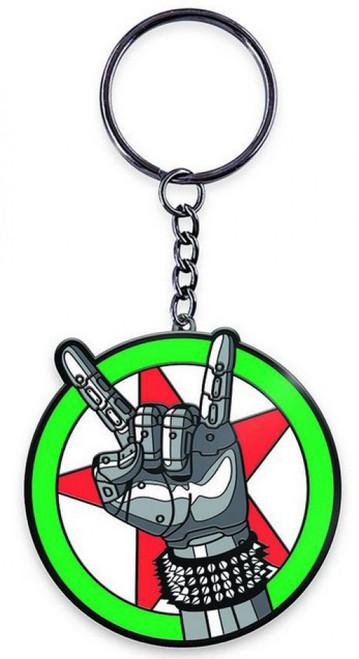Cyberpunk 2077 Silverhand Emblem 2-Inch Keychain