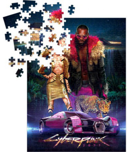 Cyberpunk 2077 Neokitsch Puzzle [1000 Pieces]