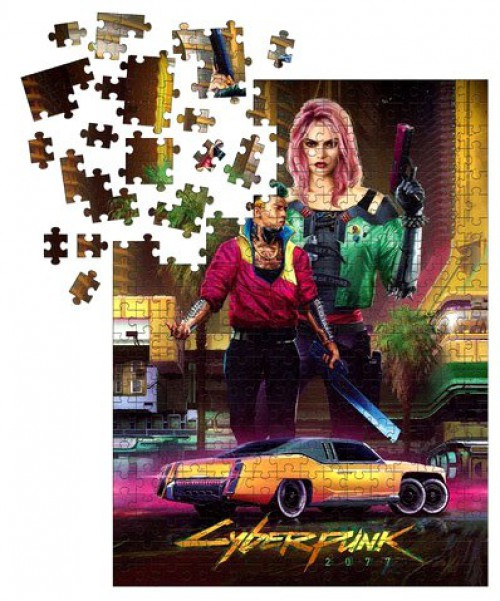 Cyberpunk 2077 Kitsch Puzzle [1000 Pieces]