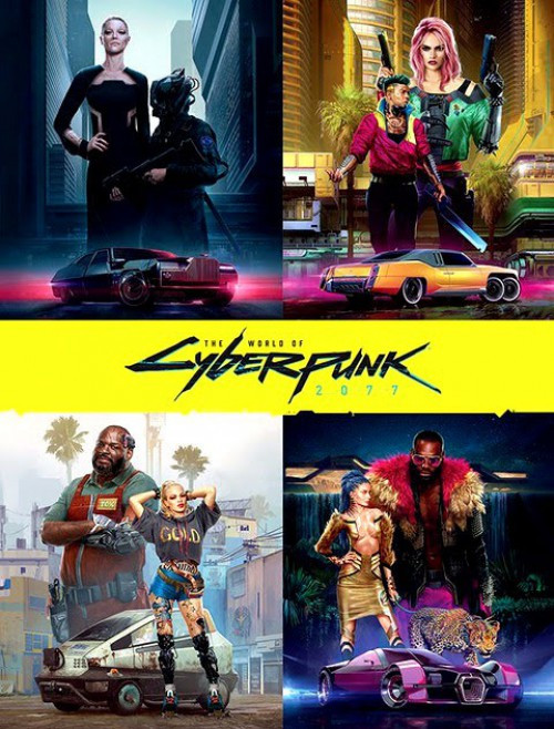 The World of Cyberpunk 2077 Hardcover Book [Regular Edition]