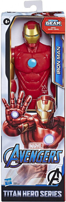 Marvel Avengers Titan Hero Series Iron Man Action Figure [2020]