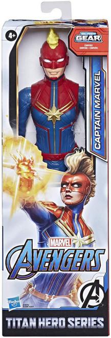 Avengers Titan Hero Series Captain Marvel Action Figure