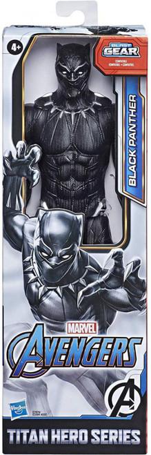 Marvel Avengers Titan Hero Series Black Panther Action Figure [2020]